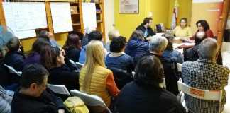 assemblea de militants d'ERC Sitges