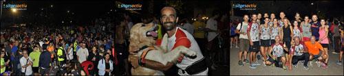 """Cursa solidaria """"Nits de la lluna plena"""" Sitges 2014"""