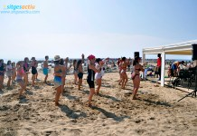 fiestas playas sitges
