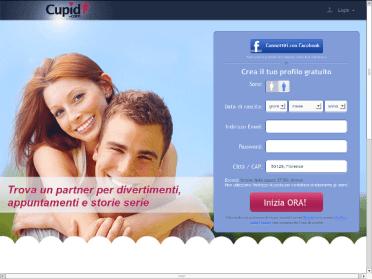 Incontri sexy su Cupid.com