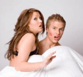 i segni dell' infedeltà coniugale