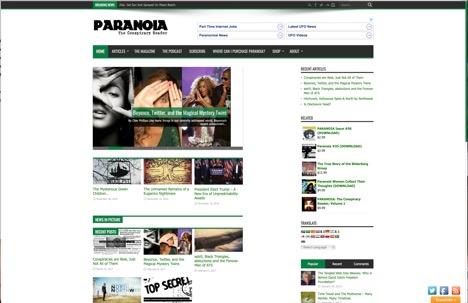 Paranoia The Conspiracy Reader