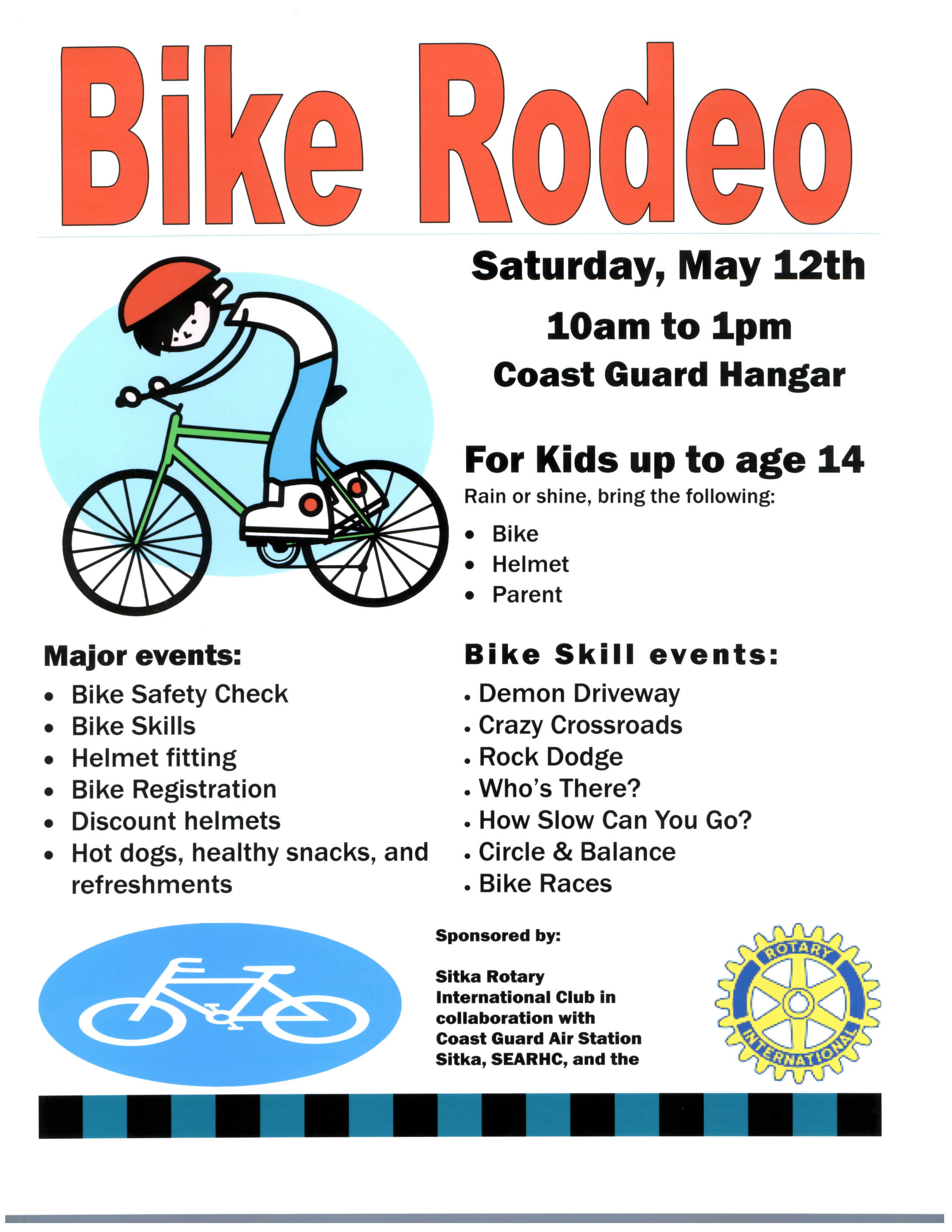 National Bike To School Day Sitka Bike Rodeo Put