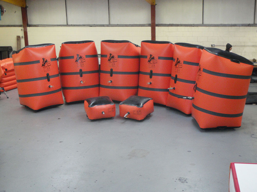full set JUMBO air jacks