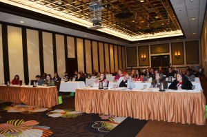 Attendees learn how to manage their finances