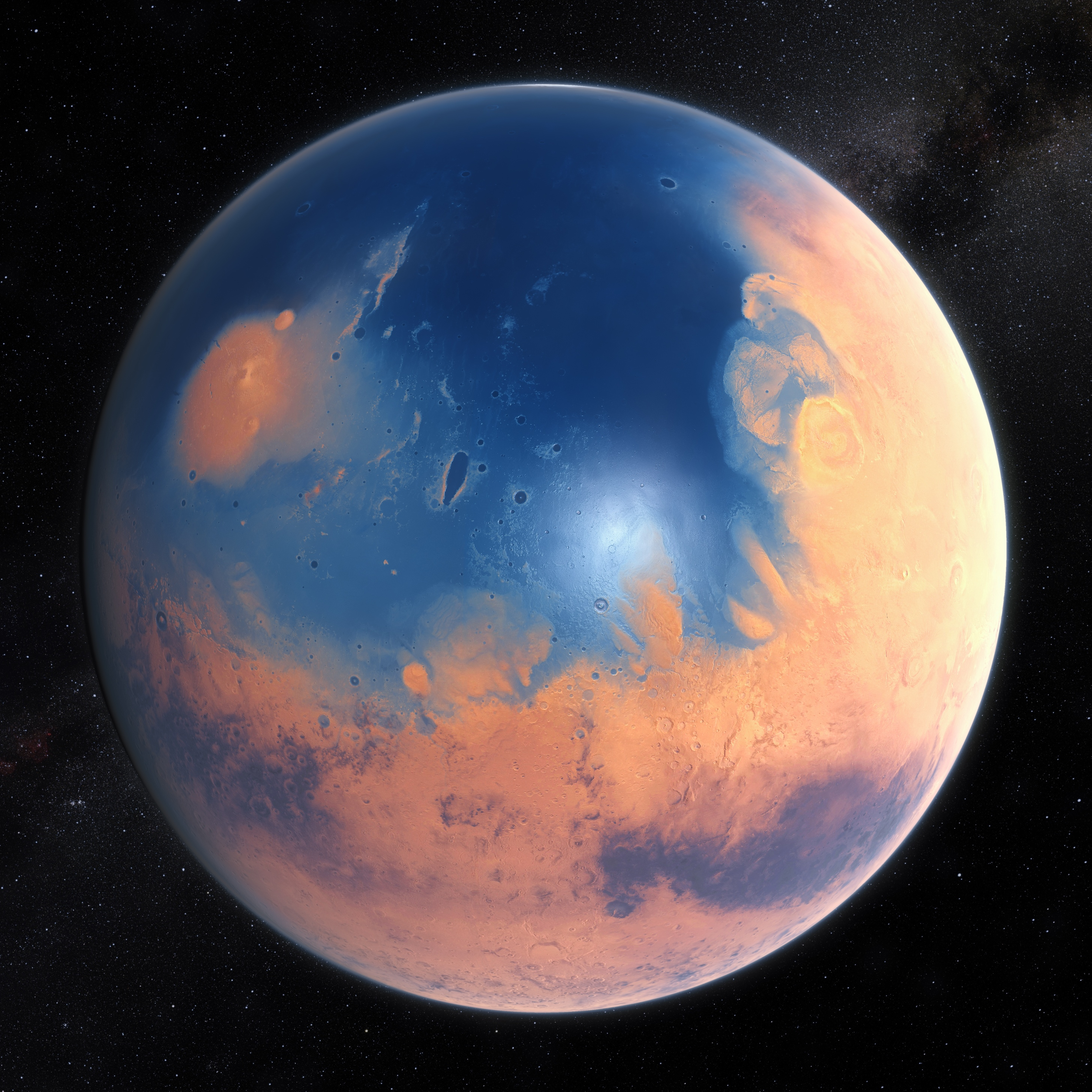 Going With The Flow New Evidence For Liquid Water On Mars