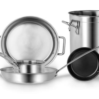 Professional Stainless Steel Cookware -Riveted Horeca R