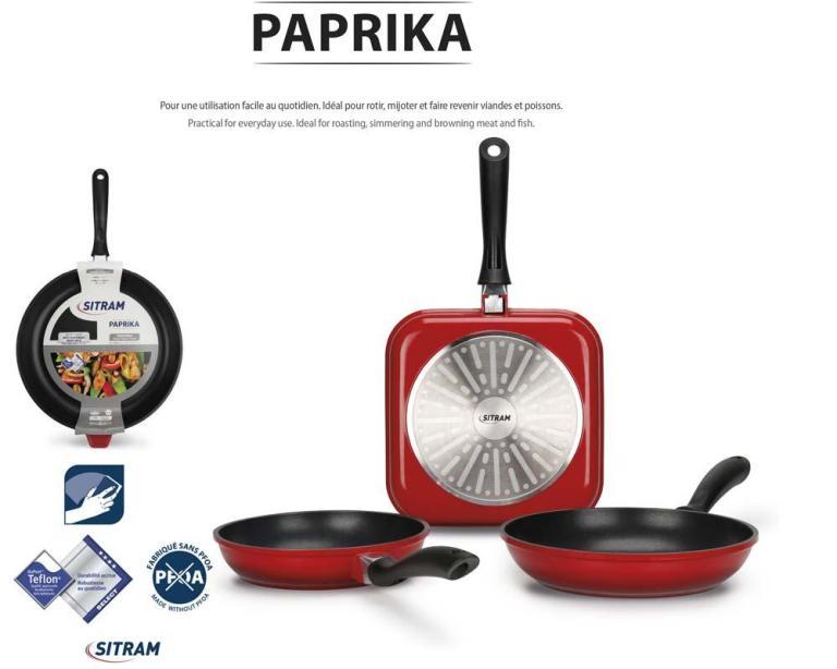 Paprika Cookware line