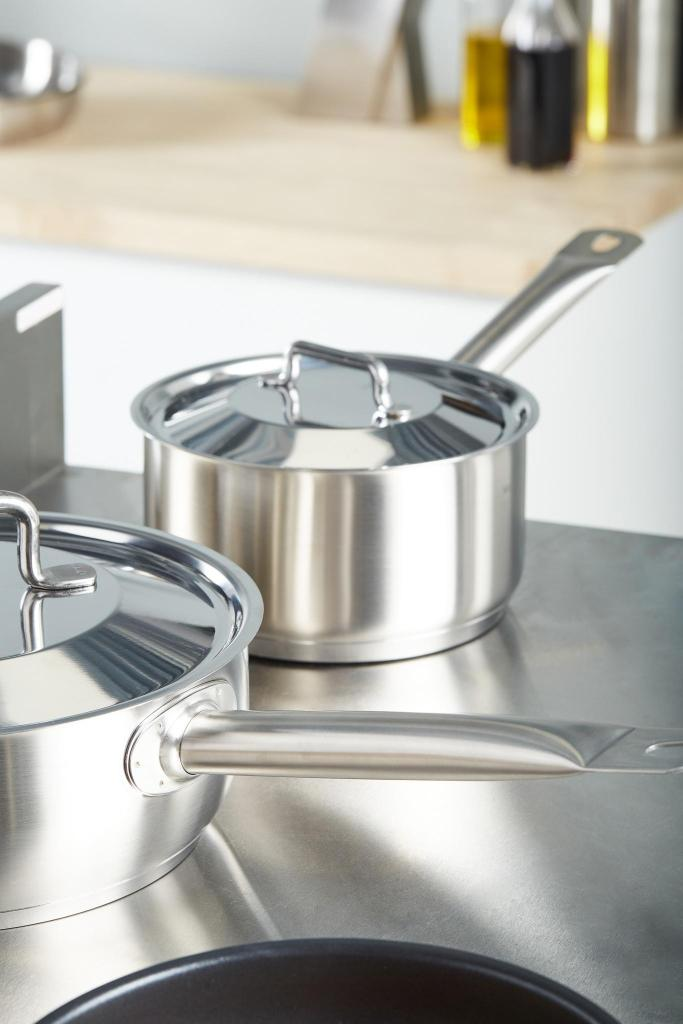 Pro 1X Stainless steel saucepan_and_lid