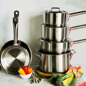stainless steel 9 piece set