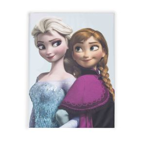 Frozen - Elsa and Anna Printed Canvas