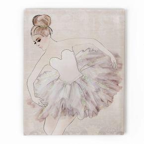 Classic Ballerina Printed Canvas