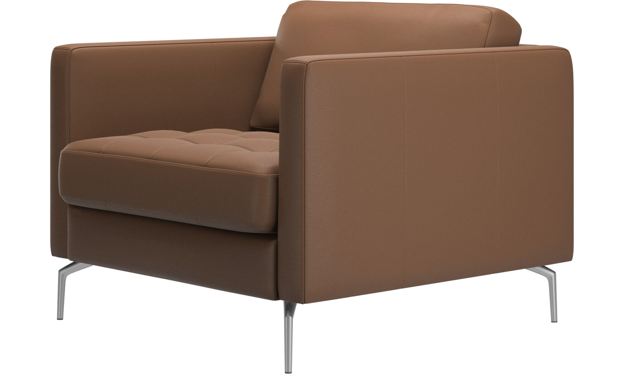 Brown Leather Armchairs Boconcept
