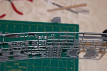 The sprues are a bit curvy. No damage though