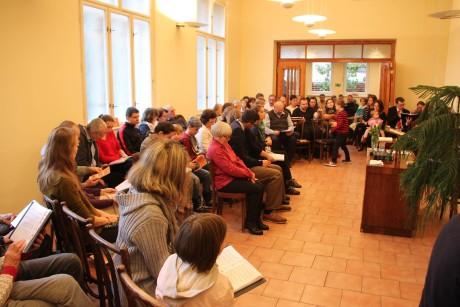 Baptistický sbor Na Topolce – bohoslužby 25. 10. 2020