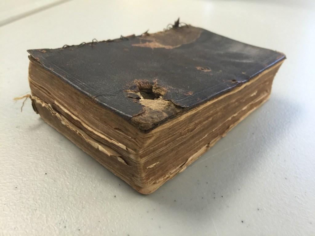 Střípky z historie: Bible zachránila život