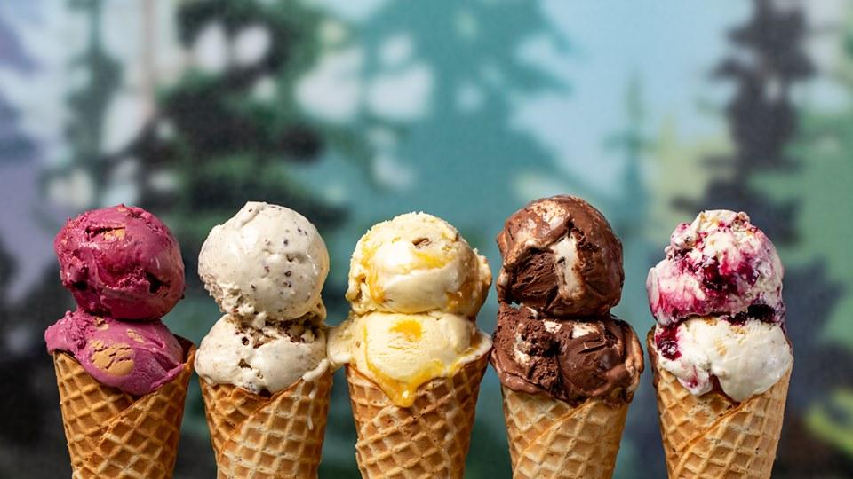 Zmrzlina za zmrzlinou