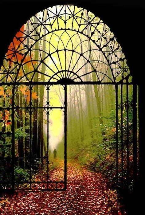 Brána spasení otevřená