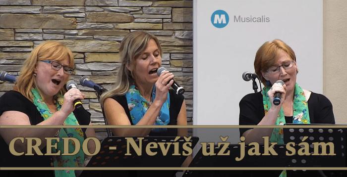 TV Hudba: 20. Nevíš už jak sám - skupina Credo - Musicalis