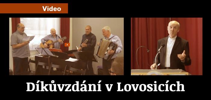 Video: Díkůvzdání ve sboru Petra Chelčického v Lovosicích 2019