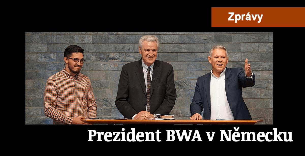 Zprávy: 14. Prezident BWA v Německu