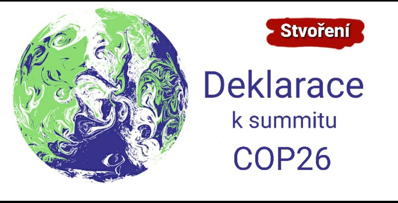 Stvoření: Deklarace k summitu COP26