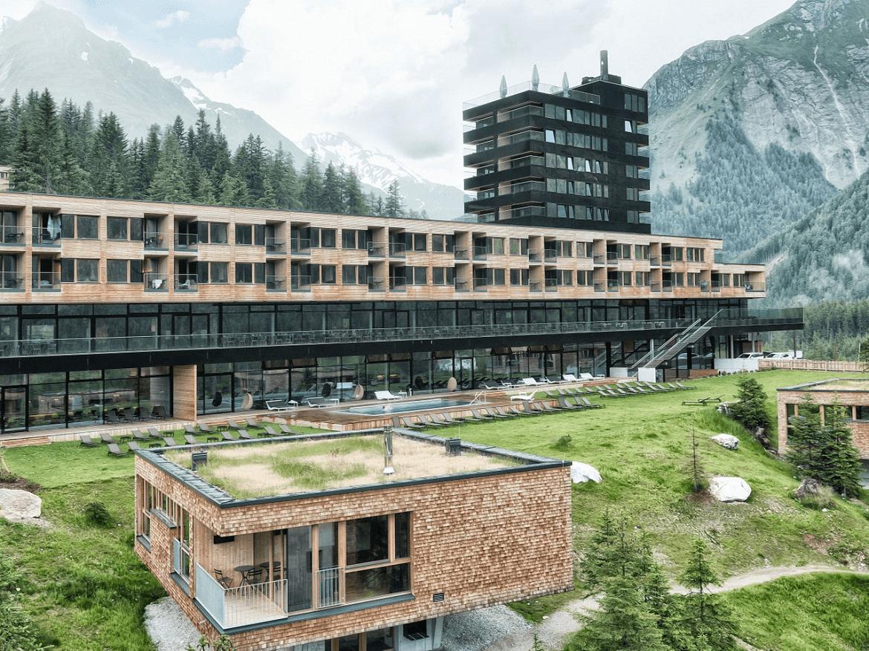 exterior gradonna mountain resort hotel alpes