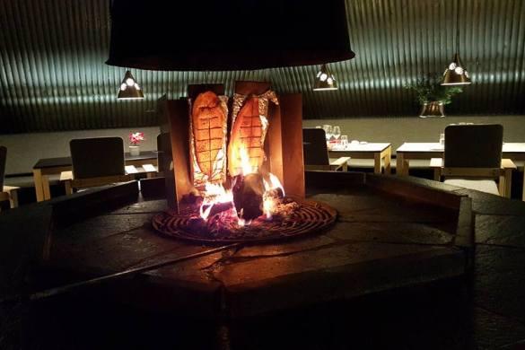 restaurante vartiosaari salmon ahumado