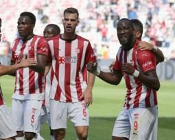 Süper Lig: DG Sivasspor: 1 – Gaziantep FK: 0 (İlk yarı)