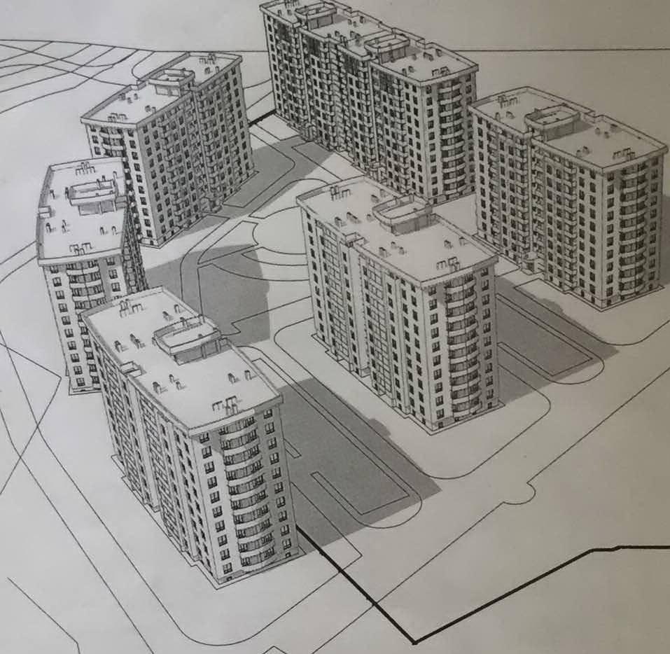 План будівництва багатоповерхівок у Віті-Поштовій
