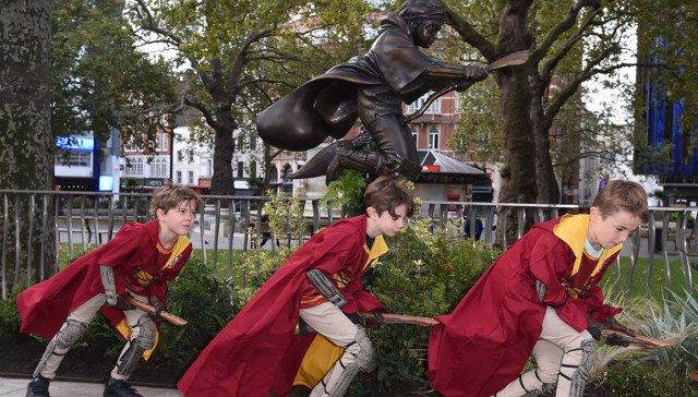 Statua Harry Potter a Londra