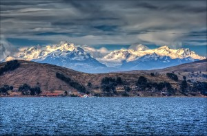 Lake Titicaca from Wikimedia - I want to go there
