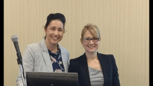 Dr. Katherine Williams and Kelly Brewster, WHNP at Festigals