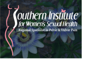 Southern Institute for Women's Sexual Health Header header with logo and flower, New Orleans, LA
