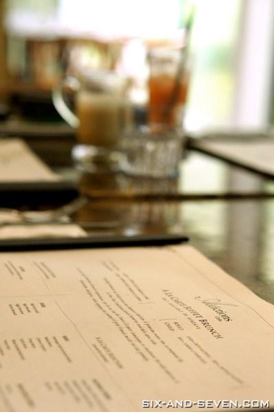 Addictions Cafe 22 Dempsey - A La Carte Buffet Brunch - Interior