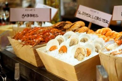 Black Italian Truffles at Conrad Centennial Singapore Oscar's - Seafood Spread