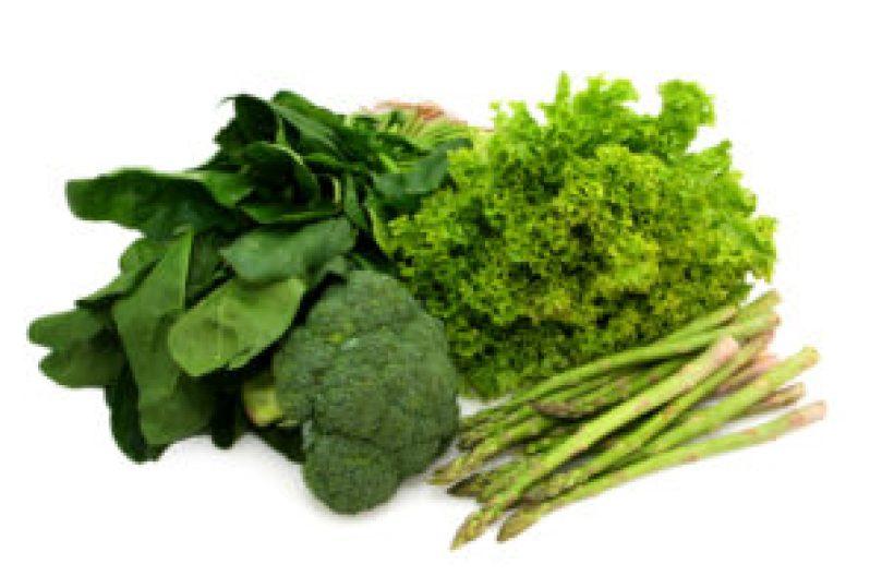 Dark leafy greens and Brocolli 1