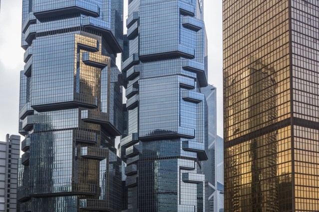 02 Dec 2015 --- Hong Kong City, Lippo Towers, Admiralty District --- Image by © Jose Fuste Raga/Corbis
