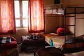 The girls bedroom.