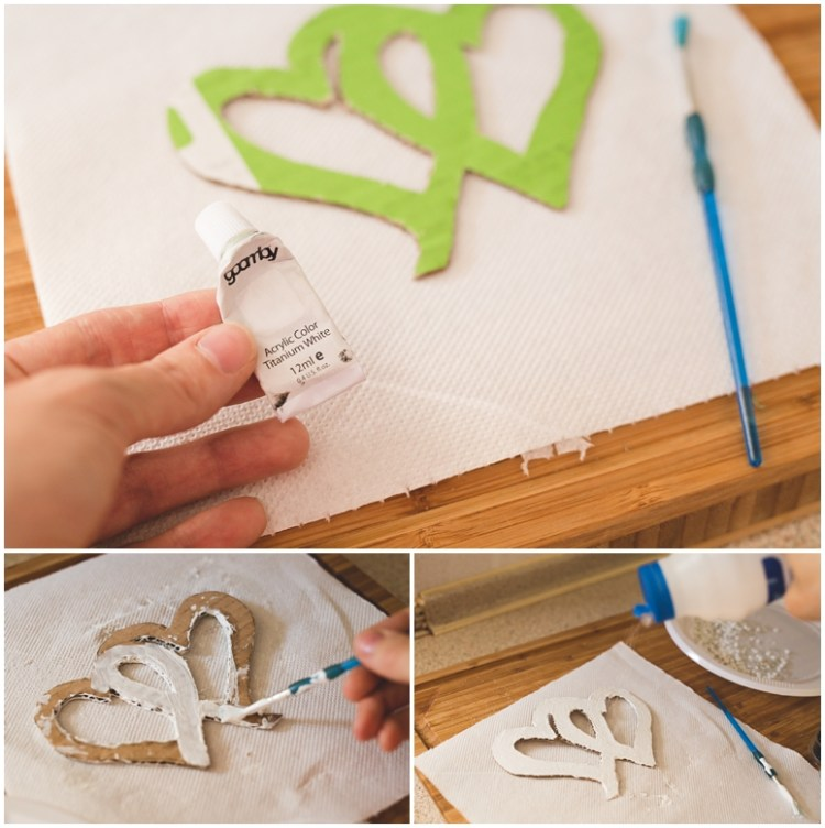 Easy DIY Wedding Cake Topper