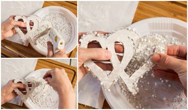 Easy DIY | Wedding Cake Topper | Cake Topper | Wedding DIY | Planning a wedding on a tight budget? This EASY DIY Wedding Cake Topper is surprisingly easy and crazy-cheap! Go to the Six Clever Sisters blog for the instructions!