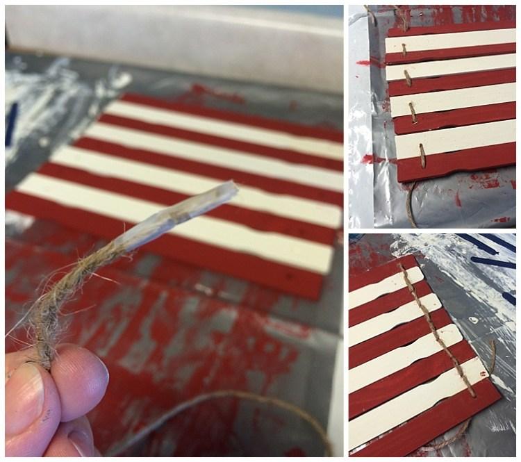 Simple Paint Stick Flag