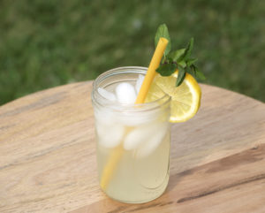 Ginger Mint Lemonade recipe six clever sisters