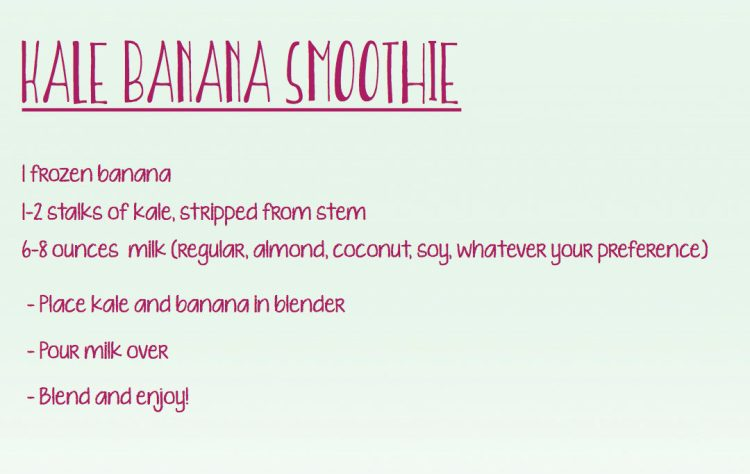 Kale Banana Smoothie Recipe