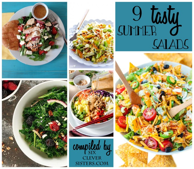 tasty summer salads