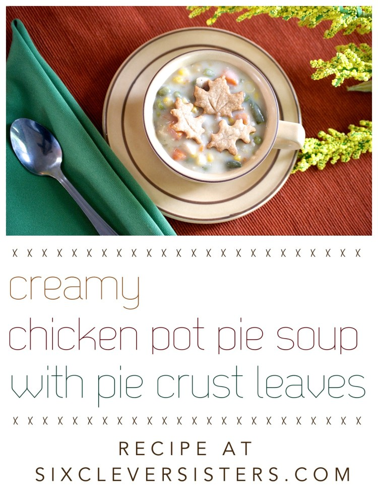 creamy chicken pot pie soup recipe