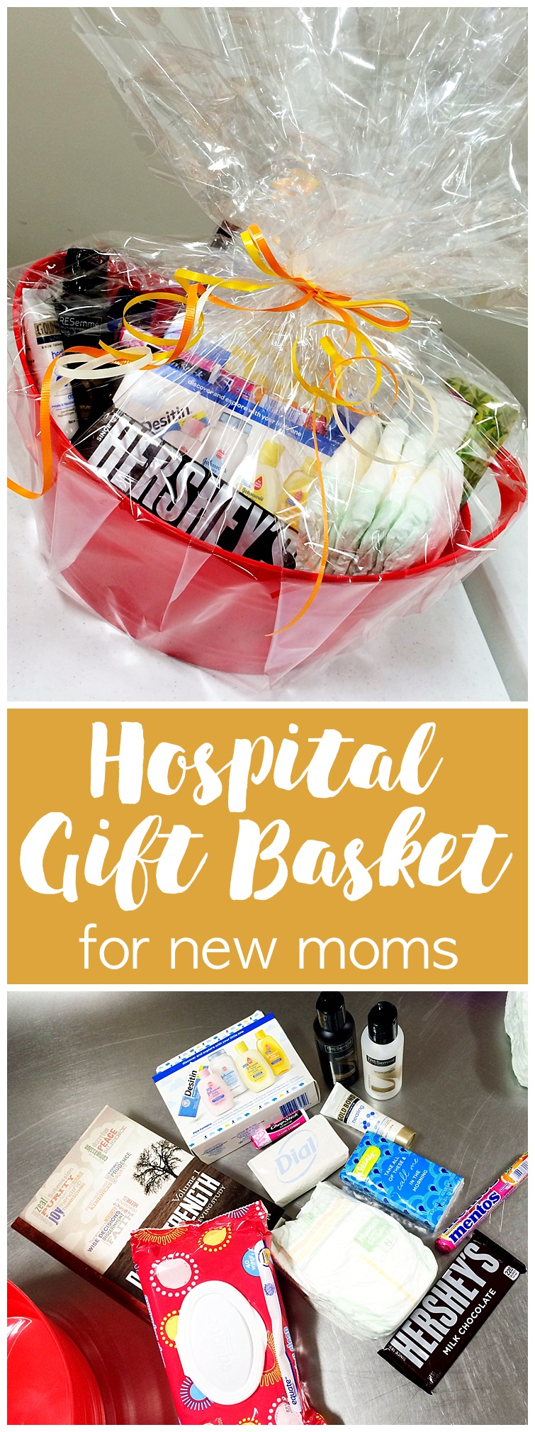 Are you looking for a way to reach out to your community? Or maybe you have a friend nearing time to give birth? These Hospital Gift Baskets are a wonderful ... & Hospital Gift Basket... for a new mom! - Six Clever Sisters