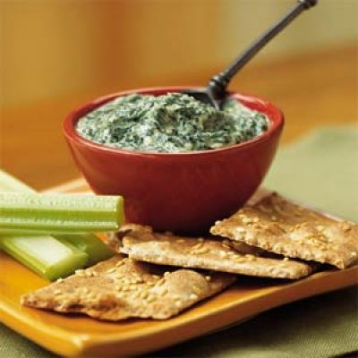 spinach parmesan dip healthy fall thanksgiving appetizer