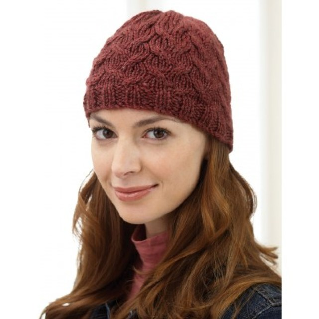 14 Free Patterns For Knit Hats Using Just One Skein Of Yarn Six
