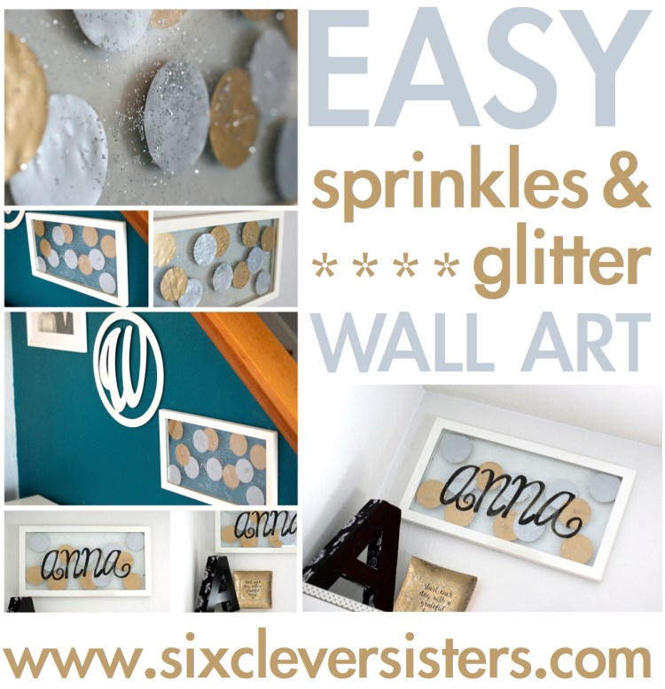 glitter gold dot home decor baby nursery decoration home diy sprinkle